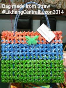 Dyaryo Bags for Life Likha ng Central Luzon 2014 Straw Bag
